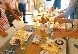 気の合う仲間とLunch & Dinnerが楽しめるキッチン付レンタルスペース